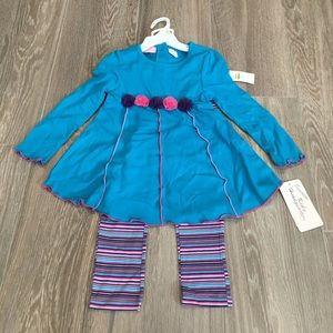Kids Headquarters Other - NWT Kids Headquarters Tunic Top and Leggings Set