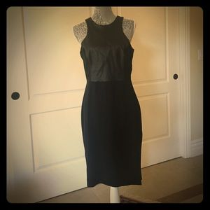 Black chic midi dress from H&M