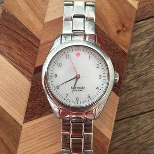 Kate Spade Seaport Silver Bracelet Watch