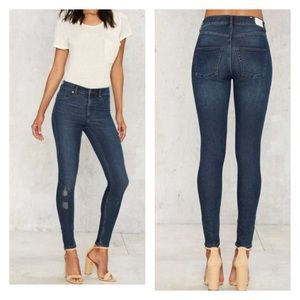 Cheap Monday Denim - Cheap Monday high spray skinny jeans - 30
