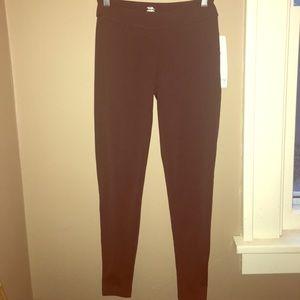 Jockey Pants - NWT Jockey P2P Brown Leggings
