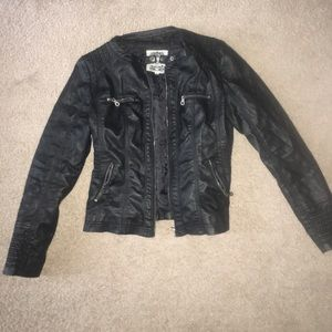 Made By Johnny Jackets & Blazers - Faux Leather Jacket