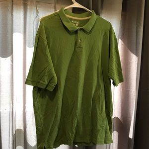 Columbia collar shirt green XL