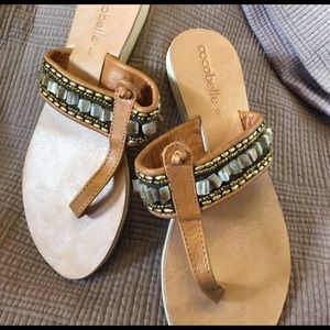 cocobelle Shoes - Cocobelle Embellished Sandals