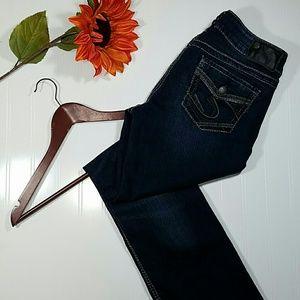 Silver Jeans Denim - ✳ Silver Suki Mid slim boot cut jeans
