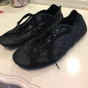 Ellesse Shoes - Black Ellesse Leather Sneakers