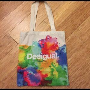 Desigual Handbags - ***NWOT*** Desigual Barcelona canvas tote