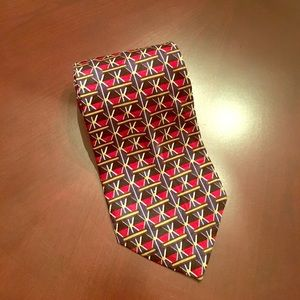 Mulberry Other - NEW Men's Ziggurat Necktie 100% Silk! NWOT