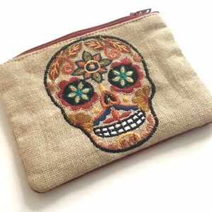 Other - ❗️SALE ❗️Skull coin pouch