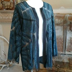 Chico's Jacket Topper Plus Size