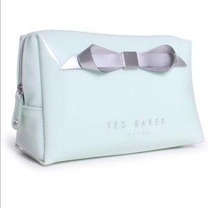 Ted Baker London Handbags - Ted Baker London Slim Bow Large Wash Bag in mint