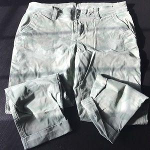 Old Navy camo boyfriend pants