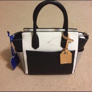 Reed Krakoff Handbags - NWT Reed Atlantique Gray, White & Black Satchel