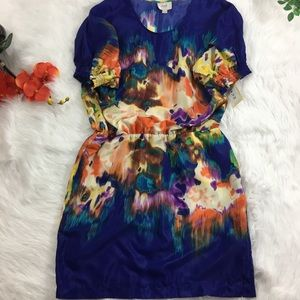 ECI Dresses & Skirts - Eci Abstract Colors Dress