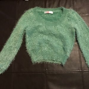 American Apparel Tops - SALE🌈American apparel fuzzy crop sweater
