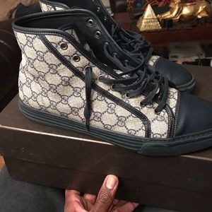 Other - High top Gucci sneaker