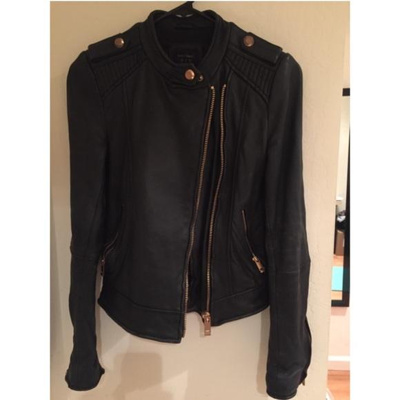 7ba4e19ac813 Zara Jackets & Coats   Rose Gold Real Leather Jacket Xs   Poshmark