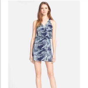 Parker Palm Print Dress