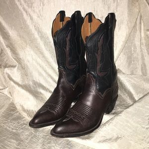 Lucchese Shoes - Lucchese 2000 Two Tone Western Boots
