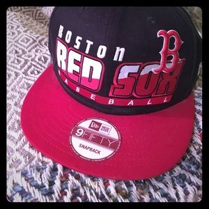 Boston Red Sox hat snapback