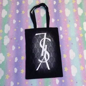 Yves Saint Laurent Handbags - YSL NYC SCAVENGER HUNT PRIZE CANVAS TOTE 2009