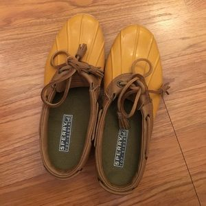 Sperry Top-Sider Shoes - Sperry Sz 6.5 mustard yellow clog, only worn 3x