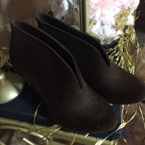 Melissa  Shoes - Melissa brown stiletto booties sz 9