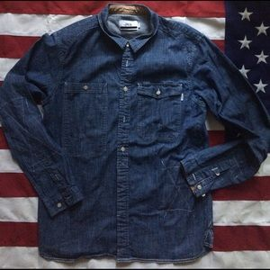 Publish Other - Super awesome denim button up