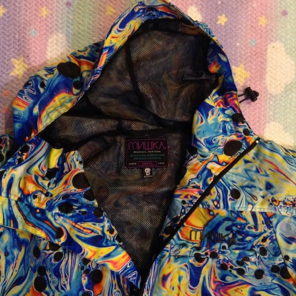 Jackets & Coats - MISHKA OIL SLICK JACKET SZ S UNISEX