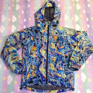 MISHKA OIL SLICK JACKET SZ S UNISEX