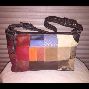 Coach Mini Patchwork Handbag