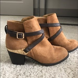 "Shoes - ""Suede"" booties"
