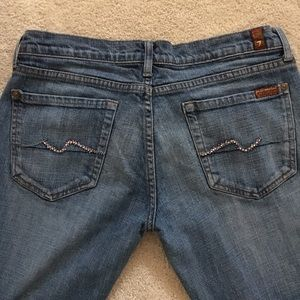 7 For All Mankind Denim - 7 for all mankind jeans bootcut size 31
