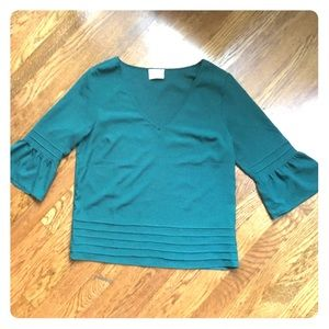 Pins & Needles Tops - ‼️PRICE DROP‼️Urban outfitters dark green shirt