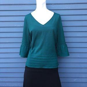Pins & Needles Tops - ‼️PRICE DROP‼️🌹URBAN OUTFITTERS dark green shirt