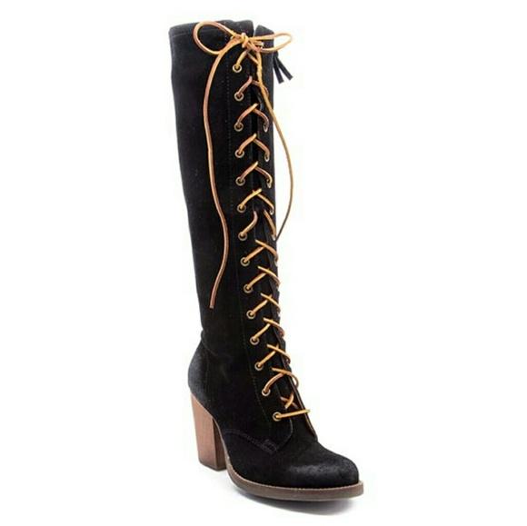 9ffc2f18fc1 Latigo Frederica Lace Up Tall Boot