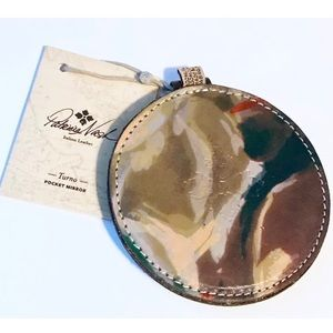 Patricia Nash Handbags - NWT - PATRICIA NASH Leather Pocket Mirror