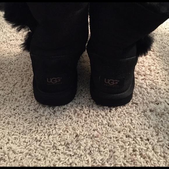 50 off ugg shoes girls size 6 black ugg boots fits