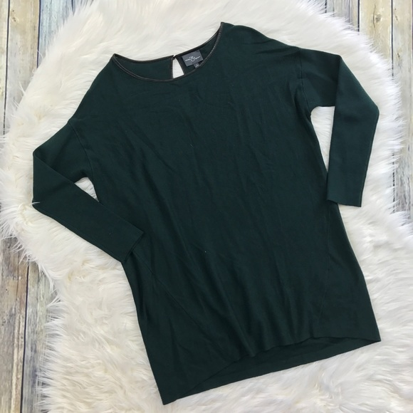 Market & Spruce Sweaters - Market & Spruce Stitch Fix Hunter Green Sweater
