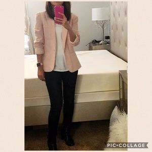 Forever 21 Jackets & Blazers - Forever21 Blazer, size XS, striped light pink