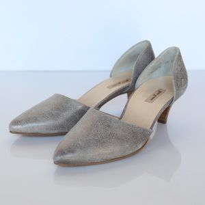 Paul Green Shoes - Paul Green crackled silver Julia shoes