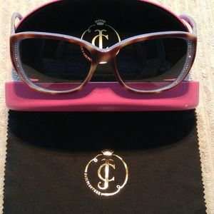 Juicy Couture Crystal Sunglasses MINT!!