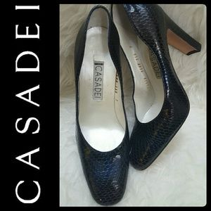 Casadei Shoes - Casadei Italy Leather Pumps