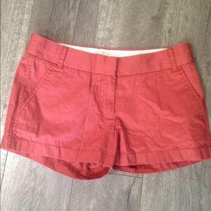 J. Crew Factory Pants - J. crew factory Burnt orange Chino shorts 6