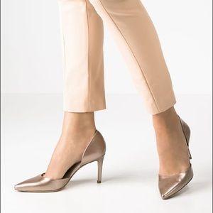 LK Bennett Shoes - L.K. Bennett d'orsay Flossie champagne heels