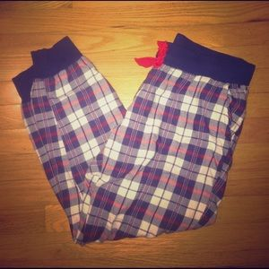 aerie Pants - Aerie Flannel Jogger Pants