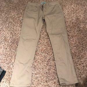 wax  Denim - Khaki butt lifting skinny jeans size 11