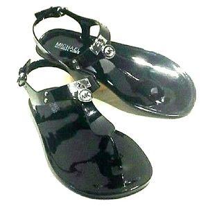 Michael Kors Shoes - Michael Kors Black Jelly Sandals