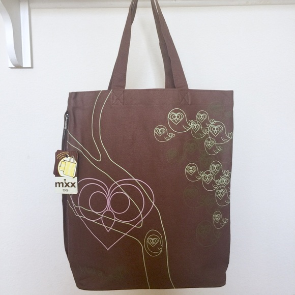 "Mixx Bags - ""What a Hoot"" tote by Mixx"