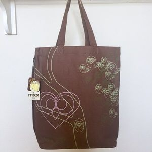 """What a Hoot"" tote by Mixx"